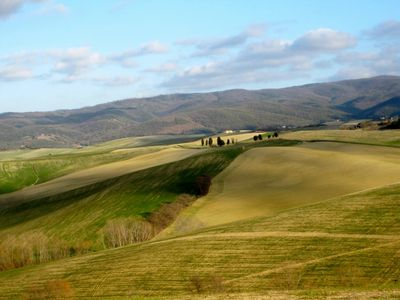Photo for Relax in the wonderful Tuscan countryside a step away from the sea ...