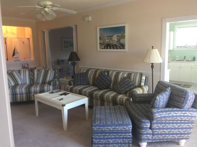 Photo for First Floor, Corner Unit (3BR/2B) on Barefoot Landing Golf Resort