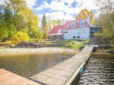 Photo for Sought Secluded Lakefront Villa near Ottawa/Edelweiss Valley Resort.