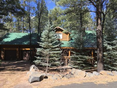 Photo for Pinetop Luxury Log Cabin - Pinetop Country Club