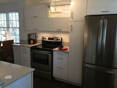 Newly renovated kitchen.  All new cabinets...