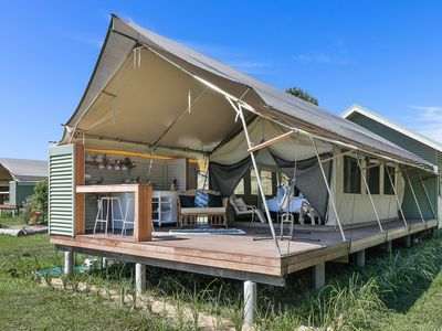 Photo for Glamping@Byron Luxury Tent #3 - Minutes To Byron