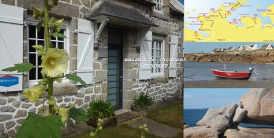 Photo for House 2-7 people, 150m from the beach Tregastel White Strike, Near Perros-Guirec