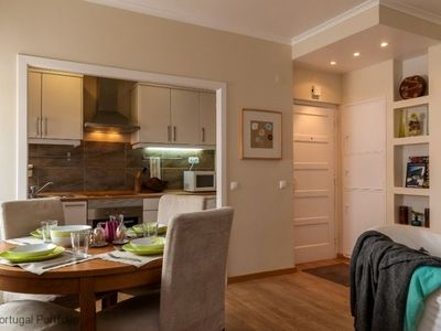 Photo for Modern apartment, sleeps 4 - in the heart of Cascais and 50m away from the beach