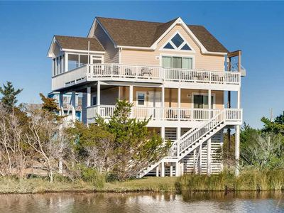 Photo for New to VRB! Soundside Delight w/ View, Cmty Pool, Luggage Lift+Easy Beach Access