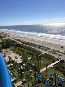 Photo for Beautiful Direct Ocean Front Condo on 10th Floor.. Recently updated!