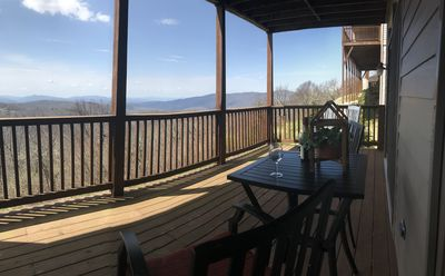 Sit on deck and enjoy the views...