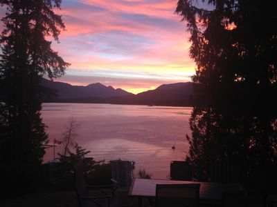 Photo for Lake Front cottage --   Book for next summer - Weekly discount