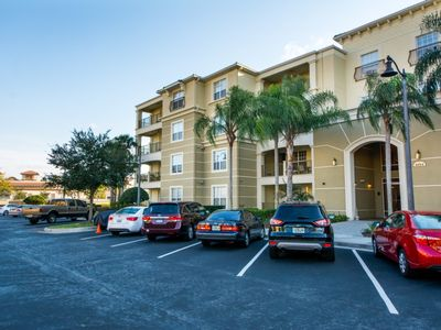 Photo for Condo near Golf w/ WiFi, Resort Pool, Spa, Fitness Area, Arcade & Business Area