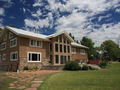 Photo for Large Home with Private River Frontage on the Animas River! Sleeps 14