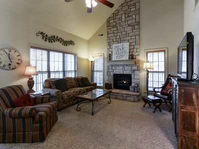 Photo for No Cleaning fees w/ 3+ Night September Stay, Stonebridge, Near SDC & Table Rock