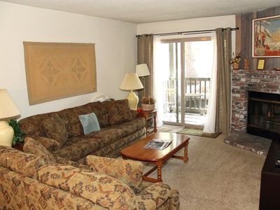 Photo for 1 Bedroom and 1 Full Bathroom, Sleeps 4, single level condo to enjoy for your Mammoth Lakes Vacation