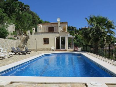 Photo for Nice house with seaview and swimming pool