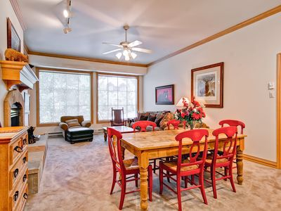 Photo for This light, airy second floor, two-bedroom, two bath residence is a great spot for a family get-away