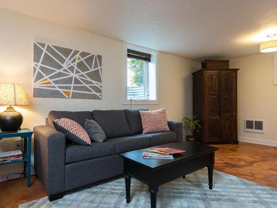 Photo for Private studio in North Portland with large kitchen close to MAX light rail