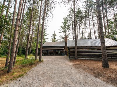 Photo for Rustic, charming, Northern Michigan cabin retreat on Pioneer Pointe