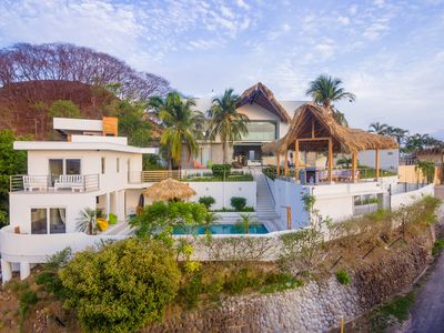 Photo for Casa Ilios · 7 bedrooms, Endless views, Fresh Ocean Breezes, Private Pool !!