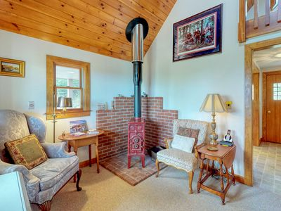 Photo for NEW LISTING! Hilltop home w/deck, view of Penobscot Bay - near festivals & more!