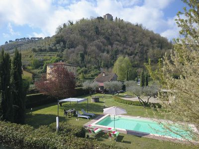Photo for Peaceful farmhouse in a village at just 12 Kms from Lucca