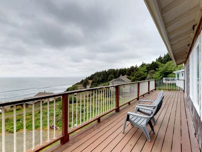Photo for Ocean-view home with private sauna near the beach, natural beauty, and more