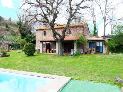Photo for Wonderful house with a rooftop pool in Tuscia