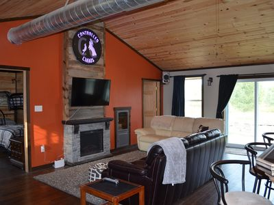 Photo for Controlled Chaos Base Camp - sleeps 10 direct access to the BRF Trail system!