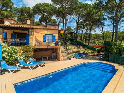 Photo for Lovely villa within walking distance of Begur with Private Pool  and WiFi