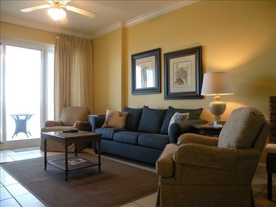 """Photo for *GREAT SPRING RATES"""" Stunning Ocean Front Condo - WiFi - Corner Unit - Hot Tub!"""