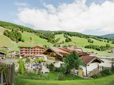Photo for Nice holiday home in Saalbach, only 100 metres from the piste
