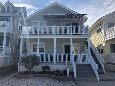Photo for South End Upper level 3 Bed, 2 Bath, 2 Decks & only 250 steps to beach!