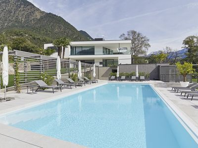Photo for Design suite with spectacular views of the surrounding mountains