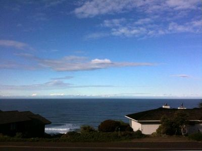 Photo for Shalimere! Near 180º Ocean View Home 75 Yards from the Bluff at Irish Beach