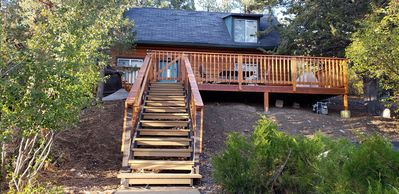 Exterior - Welcome to Big Bear Lake! This cabin is professionally managed by TurnKey Vacation Rentals.