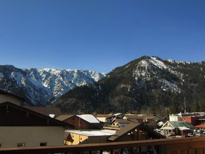 Photo for Leavenworth, Downtown Condo with Mountain Views