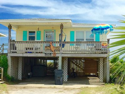 Photo for Retro 1965 Oceanfront Beach Cottage!