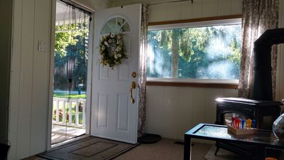 Come on in! Lazy Fall days at cottage are the best.