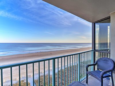 Photo for NEW! Oceanfront Resort Condo - 5 Mi to Boardwalk!