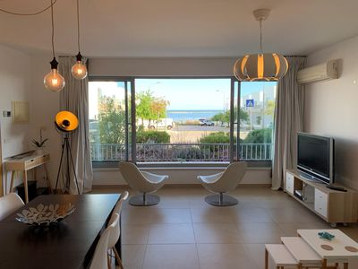Photo for Apartment with Atlantic Ocean and Ria Formosa View and Private 50m2 Terrace!
