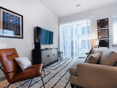 Photo for NEW LISTING! Modern downtown condo w/balcony & shared pool/gym - walk everywhere