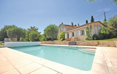 Photo for Beautiful house for 9 people, large private pool, near Cannes
