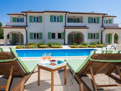 Photo for Luxury villa with pool in beautiful natural surroundings and large children's playground