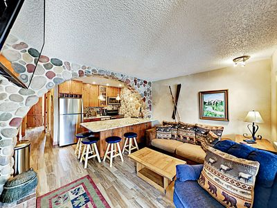Photo for New Listing! Riverside Mountain Condo Near Ski Shuttle w/ Hot Tubs & Pool