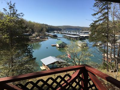 Photo for Norris Lake, Lakefront, Springs Dock, Covered 2 Slip Dock