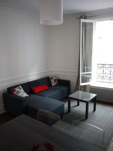 Photo for 3-room apartment, quiet, HEART MONTMARTRE./ Quiet 3-room Apartment in Montmartre