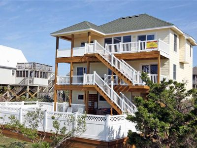 Photo for An Oceanview Haven, Avon- Private Pool, Hot Tub, Game Rm, Cmty Beach Boardwalk