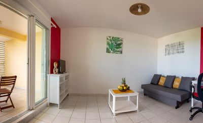 Photo for ✅ Appart'Hotel T2 of 45m ² with its clear ocean view