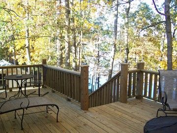 Large Deck with Many Lounging Options