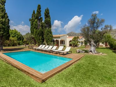 Photo for Villa Galla for groups of 6 guests, only 2km from the beaches of Puerto Pollensa! Catalunya Casas