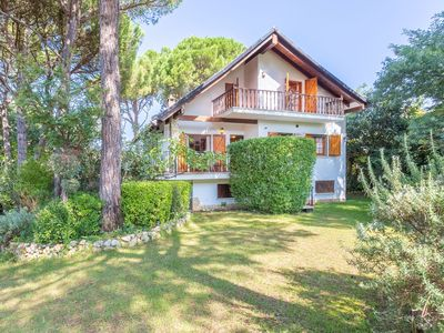 Photo for Cute house with wooden shutters large enclosed garden near Lloret de Mar