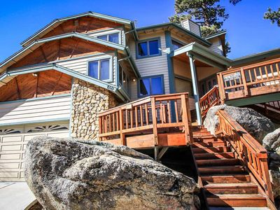 Photo for House in the center of Big Bear Lake with Parking, Internet, Washing machine, Balcony (983625)